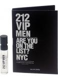DÁREK Carolina Herrera 212 VIP Men toaletní voda 1,5 ml s rozprašovačem, Vialka