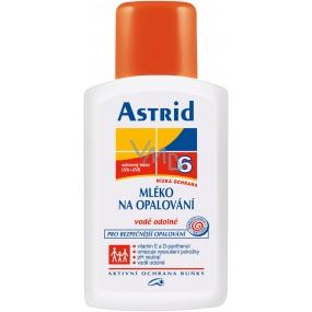 Astrid Mléko na opalování F6 200 ml vysoce voděodolné