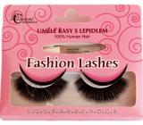 Absolute Cosmetics Fashion Lashes Umělé řasy s lepidlem, No. 20, černé