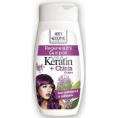 Bione Cosmetics Keratin & Chinin Kofein regenerační šampon na vlasy 260 ml