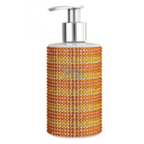 Vivian Gray Diamond Sundown Orange luxusné tekuté mydlo s dávkovačom 250 ml