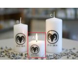 Lima Horoskop Baran sviečka kocky 45 x 45 mm 1 kus