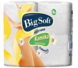 Big Soft Kamilka parfémovaný toaletní papír 3 vrstvý 4 x 160 útržků