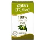 Dalan d Olive Oil s olivovým olejem toaletní mýdlo mini na tělo a vlasy 25 g
