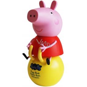 Peppa Pig - Prasiatko Pepa 3D Figúrka kúpeľový a sprchový gél pre deti 300 ml