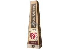 Bohemia Gifts & Cosmetics Horká extra jemná výběrová čokoláda Babičce s vysokým podílem kakaového másla 30 g
