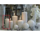 Lima Alfa Mrazivý efekt sviečka biela valec 50 x 100 mm 1 kus