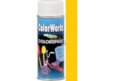 Color Works Colorsprej 918501 zlato-žltý alkydový lak 400 ml