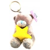 Me to You Kľúčenka plyšová Medvídek Hviezda 8 cm