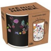 Albi Meniace hrnček Kvety sa stonky 310 ml