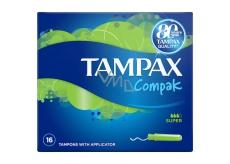 Tampax Compak Super dámske tampóny 16 kusov