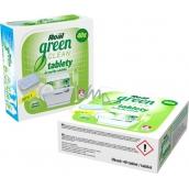 Real Green Clean All in 1 bezfosfátové tablety do umývačky riadu 40 kusov
