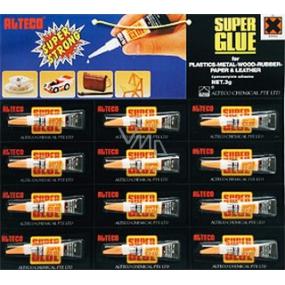 Alteco Super Glue univerzální sekundové lepidlo 12 x 3 g