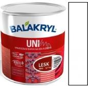 Balakryl Uni Lesk 1000 Biely univerzálna farba na kov a drevo 700 g