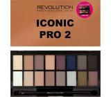 Makeup Revolution Iconic Pre 2 Palette paletka očných tieňov 16 g