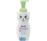 HiPP Babysanft Penové telové mlieko Mačka pre deti 150 ml