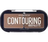 Essence Contouring Duo Palette kontúrovacou paletka duo 20 Darker Skin 7 g