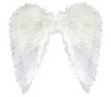 Krídla anjelské z peria 51 x 54 cm