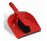 Spontex Súprava metlička s lopatkou s gumovou lištou 1 kus rôzne farby