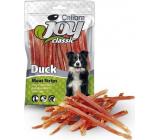 Calibra Joy Classic Kačacie mäso mäkké prúžky hypoalergénne doplnkové krmivo pre psov 250 g