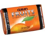 Dalan Fruits Orange toaletní mýdlo 100 g