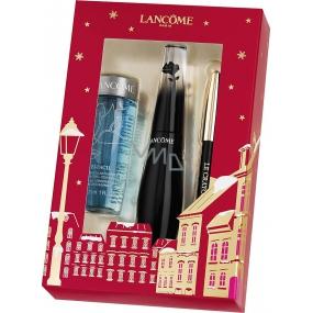 Lancome Grandiose riasenka 01 Noir Mirifique 10 ml + Bi-Facil odličovač očí 30 ml + Mini Crayon Khol ceruzka na oči 01 Noir 0,7 g, kozmetická sada