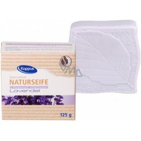 Kappus Natural Levandule certifikované přírodní toaletní mýdlo 125 g