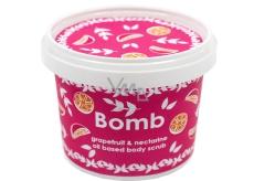 Bomb Cosmetics Grapefruit & Nektarinka Přírodní sprchový olejový peeling 365 ml