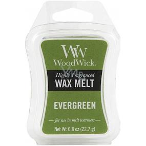 Woodwick vosk Evergreen 1425