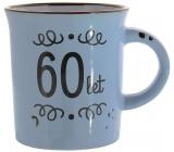Albi Plecháček keramický hrnček s nápisom 60 rokov 320 ml
