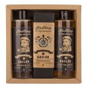 Bohemia Gifts Sailor sprchový gél pre mužov 250 ml + šampón na vlasy 250 ml + toaletné mydlo 145 g, kozmetická sada
