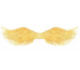 Krídla zlatá rozloženie 96 cm