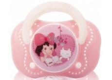 Baby Farlin Chu Chu Cherry Pacifier silikonové šidítko 0+ měsíců růžové