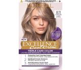Loreal Paris Excellence Cool Creme farba na vlasy 8.11 Ultra popolavá svetlá blond