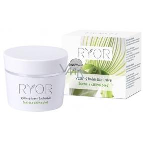 Ryor Exclusive výživný krém pre suchú a citlivú pleť 50 ml