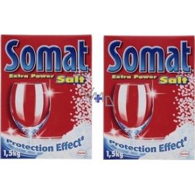 Somat soľ do umývačky s ochranným účinkom 2 x 1,5 kg