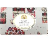 English Soap Merry Christmas prírodné parfumované mydlo s bambuckým maslom 200 g