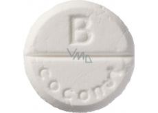 Bomb Cosmetics Kokos - Coconut aromaterapia tableta do sprchy 1 kus