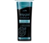 Joanna Charcoal detoxikační micelární šampón na vlasy s aktivním uhlím 200 ml