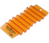 Fre Pre Hang Tag Mango interiérová vôňa, osviežovač, viacúčelový vonný záves oranžový 13,5 x 6,2 x 1,2 cm 35 g