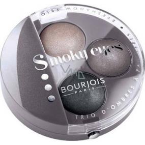 Bourjois Trio Smoky Eyes oční stíny 12 Gris Lilac 4,5 g