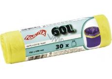 Folifix Sáčky do odpadkového koše 60 litrů, 72 x 55 cm, 30 kusů