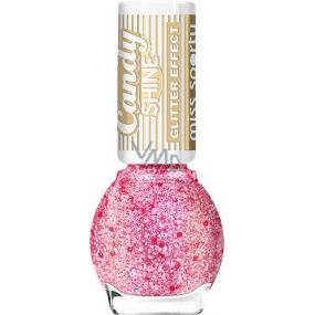Miss Sporty Candy Shine Glitter Effect lak na nechty 005 7 ml