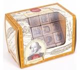 Albi Great Minds Shakespeare drevený hlavolam 4,8 x 4,8 x 7,6 cm