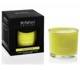 Millefiori Milano Natural Lemon Grass - Citrónová tráva Vonná sviečka horí až 60 hodín 180 g