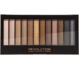Makeup Revolution Iconic 1 paletka očných tieňov 12 x 1,1 g