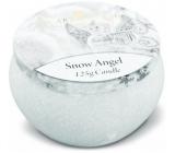 Heart & Home Andělská zima Sójová vonná sviečka v plechovke horí až 30 hodín 125 g
