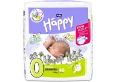 Bella Happy 0 Before Newborn od 0 - 2 kg plienkové nohavičky pre predčasne narodené deti a pre novorodencov s nízkou pôrodnou váhou 46 kusov