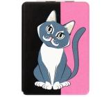 Albi Original Zrcátko obdélník Kočka 8,5 x 6 cm