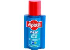 Alpecin Hybrid Coffein Liquid tonikum abraňuje dedičnému vypadávaniu vlasov pre citlivú, svrbiacu pokožku 200 ml